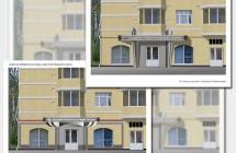Разработка концепции наружного оформления банка