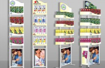 Дизайн рекламных стоек для торогового дома