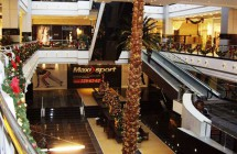 Декорирование интерьера торгового центра