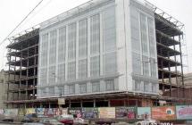 Изготовление и монтаж панно на строящееся здание