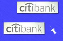 Таблички-бирки для Ситибанка