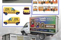 Реклама на транспорте в Москве и регионах