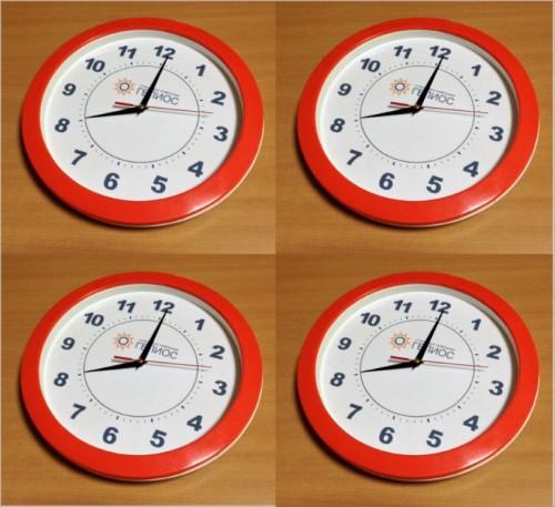 Брендирование настенных часов