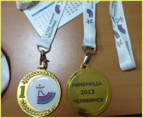 Брендирование медалей для корпоративной спартакиады