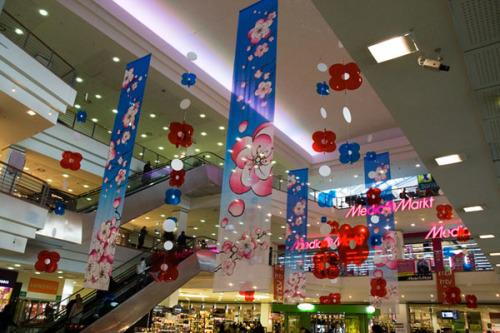 Изготовление декораций торгового центра