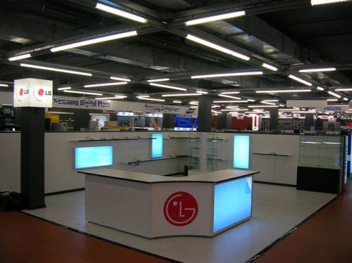 Рекламные конструкции ТЦ