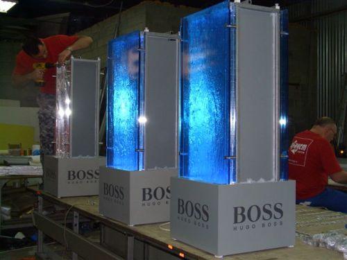 Рекламные конструкции Hugo-Boss