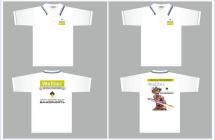 Макет для печати на футболках
