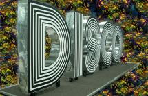 Световые объемные буквы для танцпола