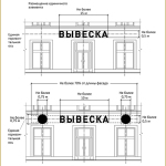 Размещение вывески в Москве по Постановлению № 902