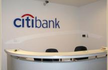 Интерьерные объемные буквы для отделений банка