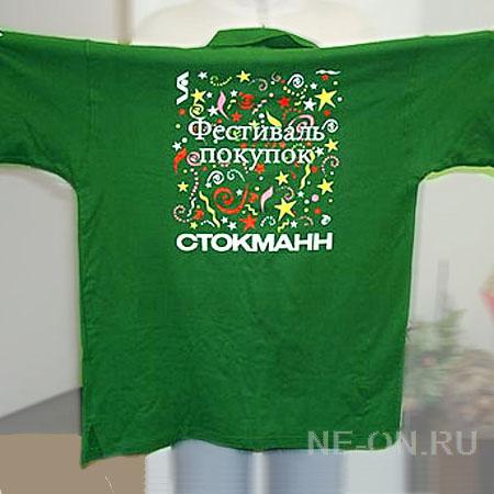 Печать на футболках шелкографией