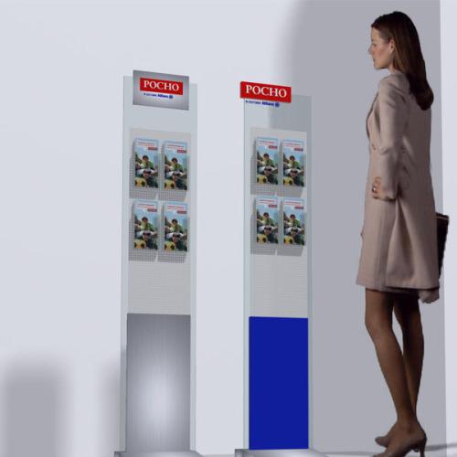 Рекламно-информационные-стойки