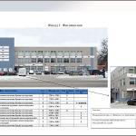 Концепция размещения рекламных и информационных конструкций на здании торгового центра