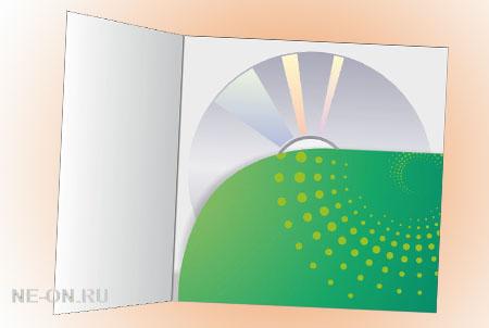 Разработка и изготовление конверта для диска