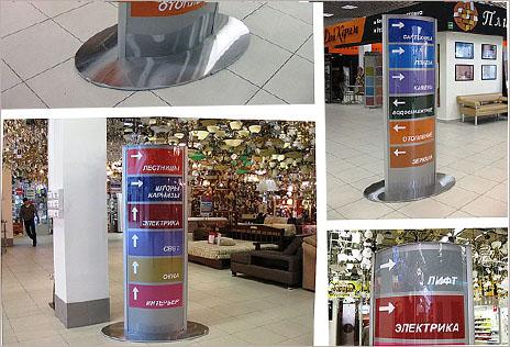 Оформление торговой зоны в магазинах и ТЦ