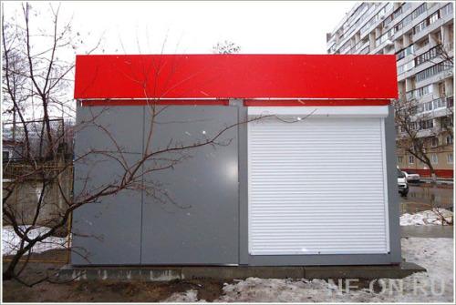 Оформление павильона продаж строительной компании