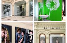Рекламное оформление интерьера салона красоты
