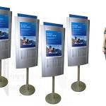 Рекламная стойка Ситибанка