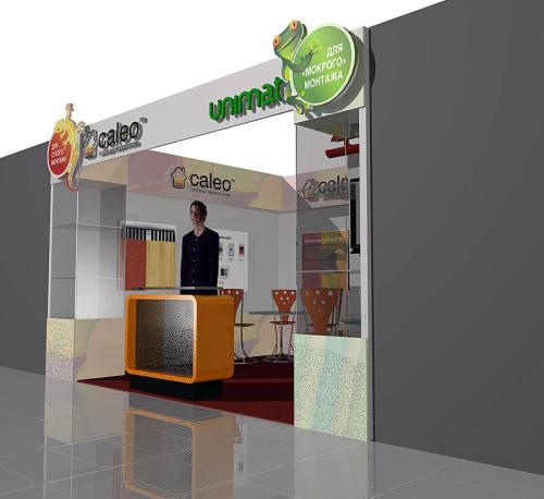 Дизайн и застройка выставки