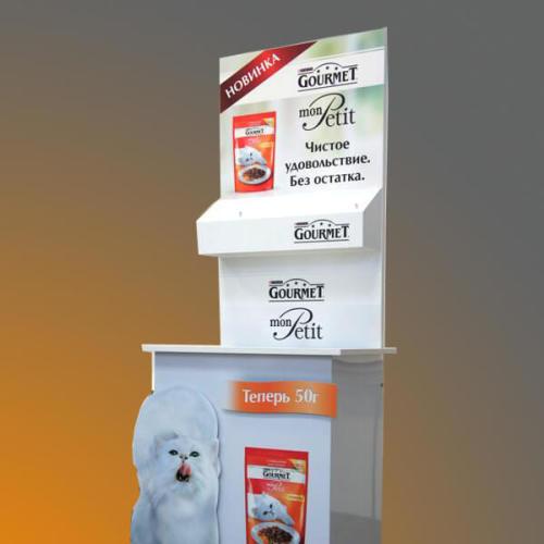 Рекламная стойка для акции